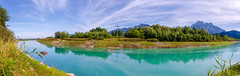 Lech-river view (Maryna K.) Tags: nature landscape river lech mountain alps forest sky