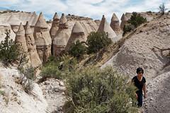 Tent Rocks 2 (Whidbey LVR) Tags: lyle rains lylerains olympus em5ii newmexico kashakatuwe tent rocks national monument cliff geology hoodoo mushroom