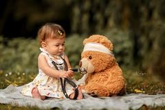 Young Doctor (agirygula) Tags: doctor nurse medicine medizin hospital platime teddy child children childhood lovely cute heart outdoor happy yp firstyear 1year