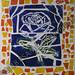 """Rose of Destiny"" by Dore, mosaic, $150.00"