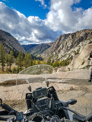 Beautiful Sonora Pass (jde95tln) Tags: honda crf1000l africa twin sonora pass hwy108 fall colors