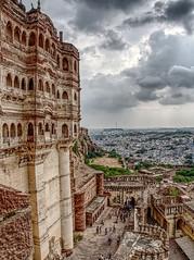 Mehrangarh Fort (seantindale) Tags: mehrangarh fort jodhur india travel olympus omdem5markii