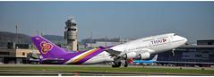 Thai Airways HS - TGA (Stefan Wirtz) Tags: hstga lszh zrh boeing boeingb747 thaiboeingb747 b747 thaiairwaysb747 thaiairways zürich zürichairport zürichflughafen zurich kantonzürich flughafen flugzeug airportzürich aeroportzurich aeroplane airplane plane jetplane jet düsenflugzeug düsenjet passagiermaschine passagierjet schweiz suisse switzerland kloten start startbahn startphase runway16 runway