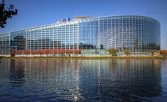 European Parliament - Strasbourg, France - oct 2018 (Cloudwhisperer67) Tags: october 2018 autumn travel blossom blossoms red trees cherry cerisiers european strasbourg alsace france riverside scape landscape waterscape waterscenery scenery morning blue sky europa europe parliament sun water marvellous skyscape cityscape flashy colored coloured light 760d river world from high soleil romantic city town capital cloudwhisperer67 bank urban rural vivid vibrant colors architecture building beautiful photography canon trip photo amazing