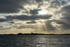Rays #2 (Stueyman) Tags: sony alpha a7 a7ii 55mm zeiss za wa au australia perth rockingham sea ocean clouds sky island westernaustralia indianocean penguinisland