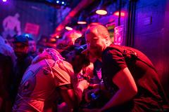 DSC08008 (Kory / Leo Nardo) Tags: frolic party frolicparty fur furry fursuit fursuiting sona fursona sanfrancisco california bar club theeaglebar eagle 2018 dance dj pupleo