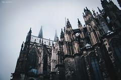 cologne. (lichtermusik) Tags: architecture cologne dome dark moody