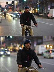 [La Mia Città][Pedala] (Urca) Tags: milano italia 2018 bicicletta pedalare ciclista ritrattostradale portrait dittico bike bicycle nikondigitale scéta 115919