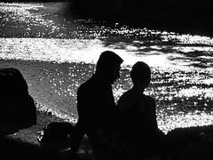 Autumn romance (PHOTOGRAPHY Toporowski) Tags: personen kontrast reflektion abstrakt sw stadt autumn herbst friedlich shadow schwarzweis contrast light wasser water spiegelung licht city schatten reflection jung schwarz bw eschweiler nrwnordrheinwestfalen deutschland deu