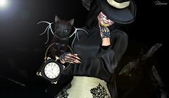 Flaquita Bonita (M & A (Marissa & Antonio)) Tags: amias belleepoque blackbantam taoxtatto lootbox salem vanityevent cute makeup halloween