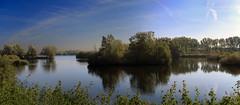 Grote Geul - Kieldrecht - Belgium (roland_tempels) Tags: supershot water landscape gorotegeul kieldrecht belgium