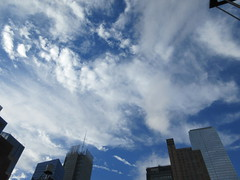 2018 October Cloud Strewn Sky NYC 2374 (Brechtbug) Tags: 2018 october cloud strewn sky nyc virtual clock tower from hells kitchen clinton near times square broadway new york city midtown manhattan 10112018 stormy weather building no hanging cumulonimbus blue cumulus nimbus fall hell s nemo southern view ny1