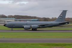 USAF KC135 - Niagara (Dougie Edmond) Tags: prestwick scotland unitedkingdom gb military aircraft airport airplane