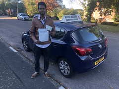 Massive congratulations  to Abdul Rehman passing his driving test with only 2 minor faults on his first attempt with Leo's driving school.   www.leosdrivingschool.com