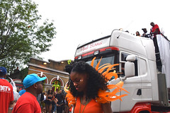 DSC_8484 Notting Hill Caribbean Carnival London Exotic Colourful Orange Costume Girls Dancing Showgirl Performers Aug 27 2018 Stunning Ladies (photographer695) Tags: notting hill caribbean carnival london exotic colourful costume girls dancing showgirl performers aug 27 2018 stunning ladies orange