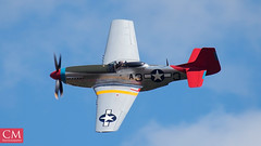P51D Mustang #2 - East Fortune 2018 (Chazzum) Tags: airshow airbus airplane aircraft east fortune eastfortune scotland national red arrows british german american wwii photography cold war mustang typhoon bronco texan mig15 museum