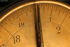 Scale Dial (Retro Photo International) Tags: macromondays measurment scale numbers macro carl zeiss jena 50mm 35 rust