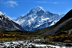 Mt. Cook (Dodd Lu) Tags: mountain newzealand d850 dslr nikon nationalpark snow sky landscape mountainside