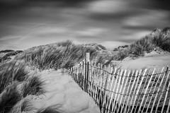 Dunes (teltone) Tags: dune wind autumn bw mono canon beach merseyside coast 5d raw manual longexposure
