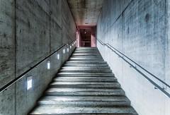 Suspense (*Capture the Moment*) Tags: 2018 architektur fotowalk innen munich münchen september sonya7mark3 sonya7m3 sonya7iii sonyilce7m3 staircase stairs tamron2875mmf28diiiirxd treppen treppenhaus indoor