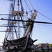 Attaching a Line to the USS Constitution, variant