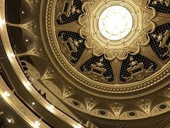 the ceiling (Hayashina) Tags: ukraine kiev theatre ceiling