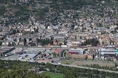 Aoste (gasdub) Tags: europe italia aoste aosta val vallee valley montagne montana montagna italie vue view vista ville ciudad citta city valle
