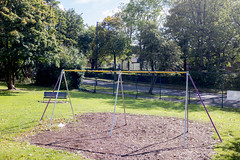 Albert Road swings, Kings Heath (new folder) Tags: kelsey birmingham birminghamuk kingsheath playground albertroad alcesterroad swings derelict abandoned