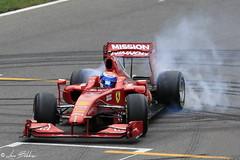 Starting A Donuts (Luca Bobbiesi) Tags: ferrari cars auto f1 formula1 f60 ferrarif60 donuts autodromo pista monza burnout marcgene canoneos5dmarkiv canonef100400mmf4556lisusm genè