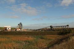 Hatfield Colliery (Derbyshire Harrier) Tags: 2018 coalmine hatfieldcolliery southyorkshire industrial autumn october abandoned derelict pool hatfieldmaincolliery mine pithead windinggear windmills
