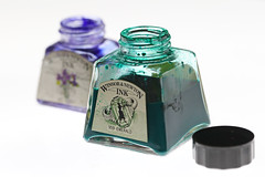 Emerald and Violet (Arkle1) Tags: ink