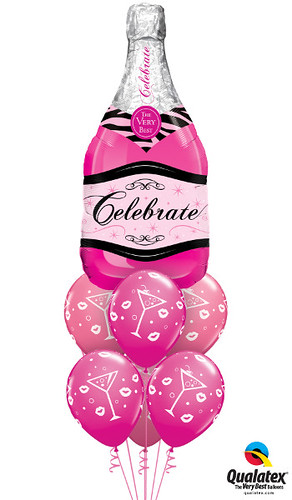 Celebrate Pink Champagne