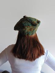 Marl Turquoise Beret (brandacrafts) Tags: beret hat knits marl teal woolhat winterhat