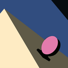 Sign Of The Times - Explore Position No. 46 [October 2, 2018] (lawroberts) Tags: new york city cityscape ciudad cité ciel sky cielo blue pink minimal minimalism minimalist minimale minimalisme minimalismo minimalista minimo minimaliste minimalismus mínimo explore explorer explorar geometry abstract