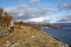 Hike (G E Nilsen) Tags: nordland norway brønnøy hiking autumn sea cloud trees