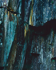 Slate Details » (CactusD) Tags: england cumbria movements lakedistrict slate colour tilberthwaite quarry greatbritain great britain nikon texture uk unitedkingdom gb landscape film 5x4 4x5 details fuji fujichrome velvia velvia50 largeformat large format epson v850 linhof technikardan tks45 s45 nikkorw210mmf56 210mm f56