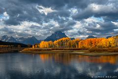 Fall Color at Oxbow Bend (James Neeley) Tags: grandtetonnationalpark tetons autumn fall gtnp wyoming landscape oxbowbend jamesneeley