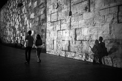 Shadow Thieves (stephen cosh) Tags: blackandwhite candid israel jerusalem leica35mmsummilux leicam246 stephencosh streetphotography