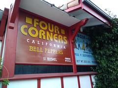 Four corners (c_nilsen) Tags: digital digitalphoto california santaclaracounty casadefruta cameraphone signs art painting