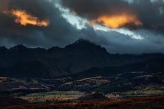 Dallas Divide, Colorado (™ Pacheco) Tags: colorado dallas divide sunrise autumn fall aspens sanjuanmountains dallasdivide fallincolorado sneffelsrange sneffels