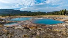 Rainbow Pool (jackson.w.f.chu) Tags: americanmidwest yellowstonenationalpark montana wyoming cowboy buffalo hydrothermalvent pentax landscape