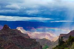 Grand Canyon Hike (James Marvin Phelps) Tags: arizona grandcanyon nationalpark hiking southkaibabtail brightangeltail tontotrail photography jamesmarvinphelps jamesmarvinphelpsphotography rainbow