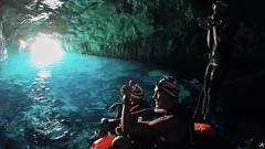 Swimrun Oeil de Verre Grotte Bleue octobre 201700111 (swimrun france) Tags: calanques provence swimming swimrun trailrunning training entrainement france grotte bleue cave