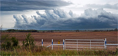 Weird clouds, Westover, Texas (Small Creatures) Tags: anamorphic cinemascope d60 clouds baylorcounty iscorama isco nikkorh85mm nikon nikond60 westover texas weather
