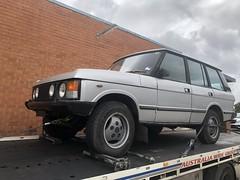 Arrival. (andrew edgar .......) Tags: range rover silver v8 blacktown nsw australia