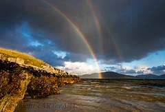 0V6A5854 (cARTerART) Tags: rainbows 3 three reflected bows isle harris scotland seilebost seascapeweather sea coast outer hebrides