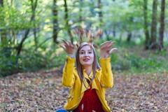 IMG_9423 (fab spotter) Tags: younggirl portrait forest levitation brenizer extérieur lumièrenaturelle