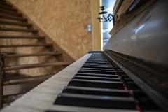 Urbex Villa Mistral (Fenjav) Tags: urbex abandoned decay villa mistral halloween horror skeleton pumpkins piano