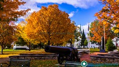 Autumn at the town green in Bristol. (scenicvermontphotography) Tags: bristolvermont fallfoliage foliage foliageseason historic historicvermont newengland scenicvermont scenicvermontphotography vermontfoliage vermonthistory vermontlandscape vermontlandscapes