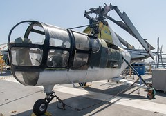 Sikorsky HO3S (orange27) Tags: sikorskyh5 helicopter aircraft ussmidwaycv41 ussmidway cv41 midwayclassaircraftcarrier aircraftcarrier usnavy sandiego california unitedstates northamerica